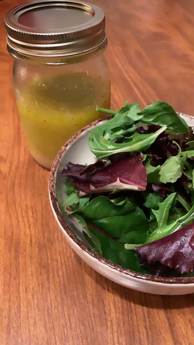 Spicy Maple Mustard Vinaigrette with DOSE