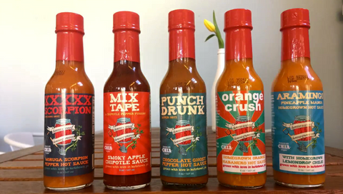 Homesweet Homegrown Hot Sauce Collection 5-pack