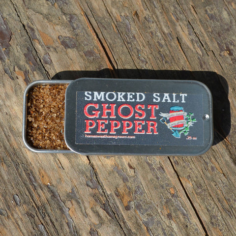 Smoked Ghost Pepper Salt