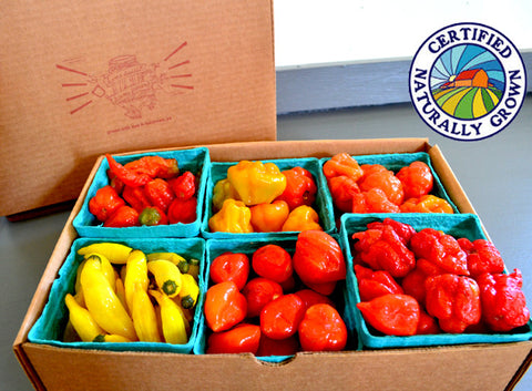 Super Hot! Chili Pepper Sampler Box