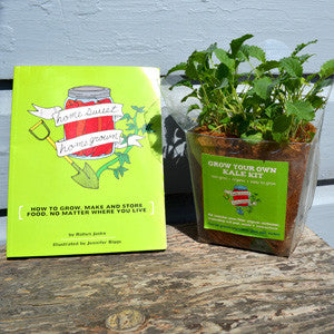 Grow Kit + Signed Copy of Homesweet Homegrown