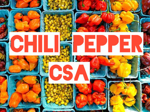 Chili Pepper CSA: Monthly Chili Subscription Box