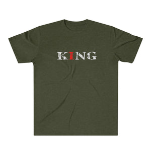Christ-Centered, Legacy-Minded, King - Men's Tri-Blend T-Shirt
