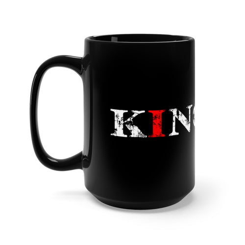 Christ-Centered, Legacy-Minded, King - 15oz Black Mug