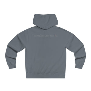 Christ-Centered, Legacy Minded, King - Men's Hoodies