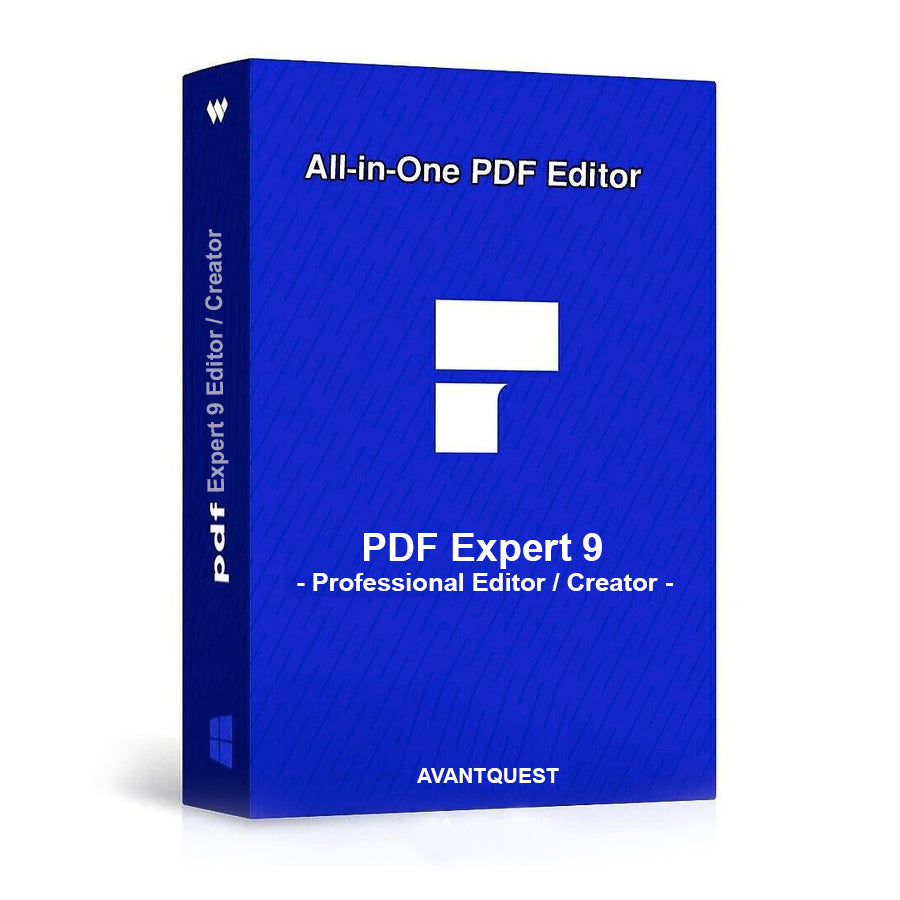 PDF Expert 9 - Pro Editor, Creator, Edit Viewer, Converter and Reader Software - Adobe Acrobat Alternative for Windows