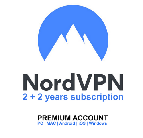 NordVPN Account - Premium 2+2 Years Subscription