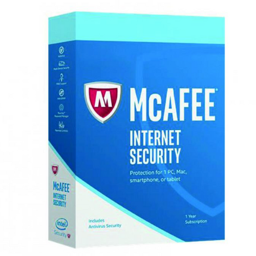 McAfee Internet Security 2020 - Anti Virus Software: 2 Years License 1 PC