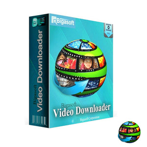 Bigasoft Video Downloader Pro - Lifetime License Key for Windows