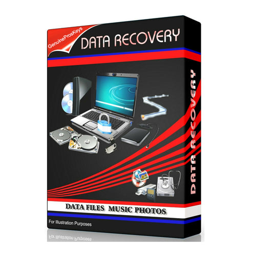 Rescue Data Files, Data, Music, Photos - Software RECOVERY - Lifetime License