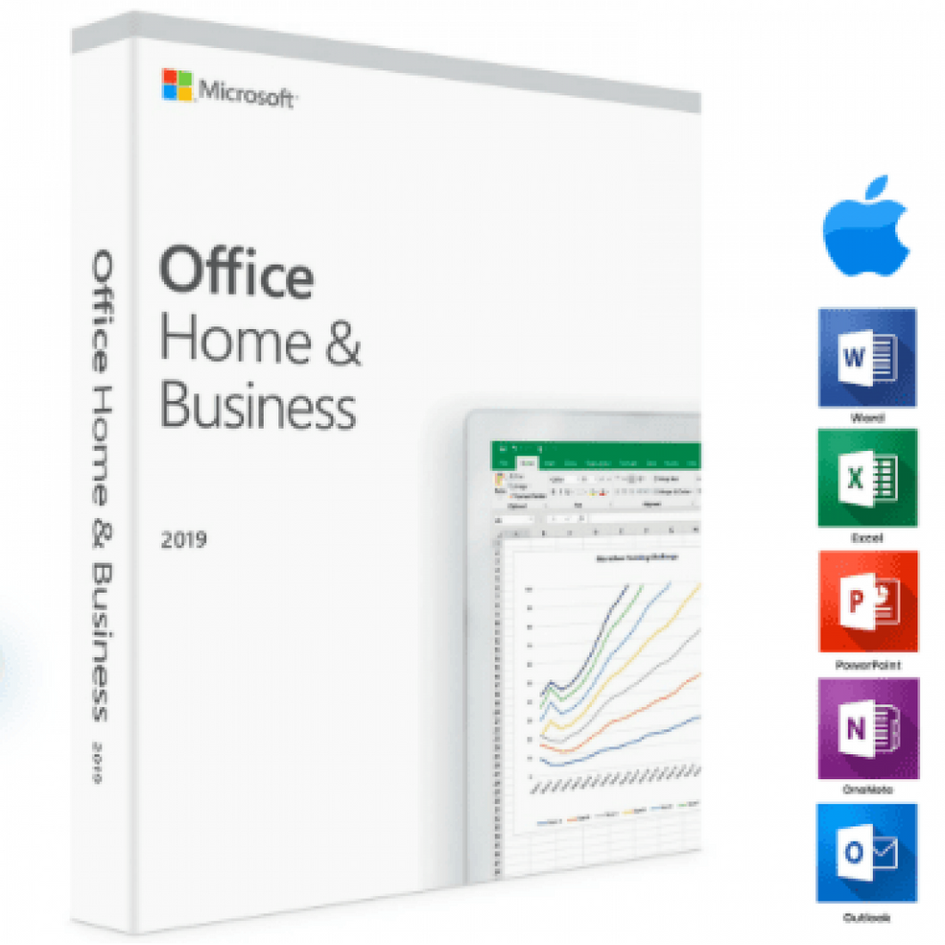 Microsoft Office 2019 Home and Business - Mac - License Key