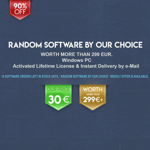 Lifetime Illustrator Random Software by Our Choice for Windows | 10 in Stock