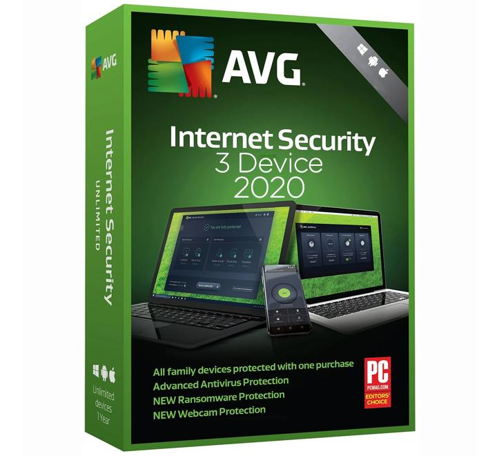 AVG Internet Security 2020 - 1 Year / 3 PC Key