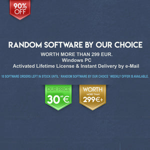Lifetime Light Random Software by Our Choice for Windows | 10 in Stock