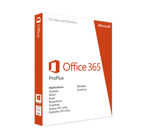 Microsoft Office 365 Pro Plus Lifetime License for Windows / Mac ( up to 5 own devices)