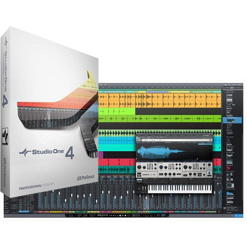 PreSonus Studio One 4 Professional for Windows - Lifetime License Key