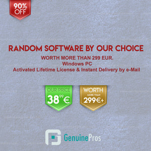 Lifetime Random Software by Our Choice for Windows | 10 in Stock, Weekly Offer