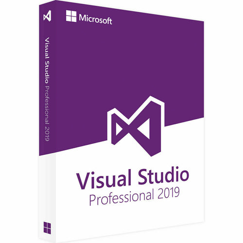 Visual Studio Professional 2019 - Lifetime License Key