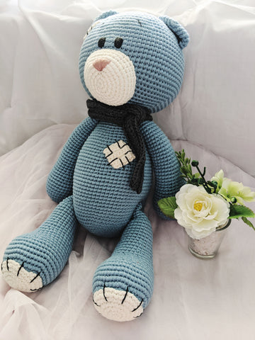 Beary Bear with removable scarf