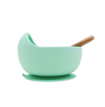 Suction Silicone Bowl and Spoon