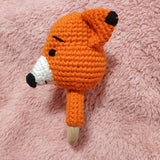 Foxy Fox Ring Rattle