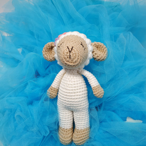 Sleepy Sheep Rattle - Standing