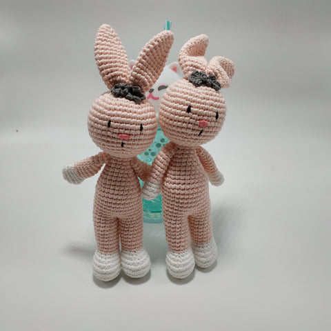 Cherry bunny Rattle - Standing