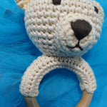 Blurry Bear O Ring Rattle