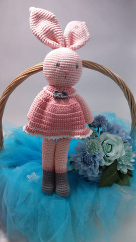 Bebe Bunny with Removable Pink Dress