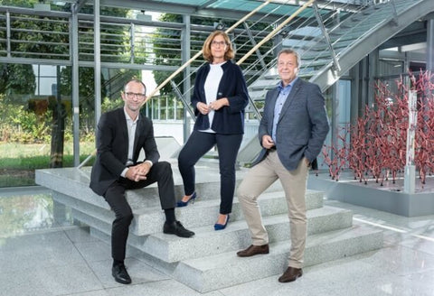 Beate Oblau, Thomas Trapp and Peter Utsch