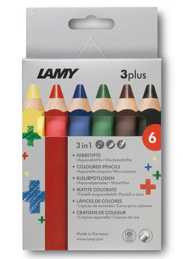 LAMY 3plus colored pencils 6st