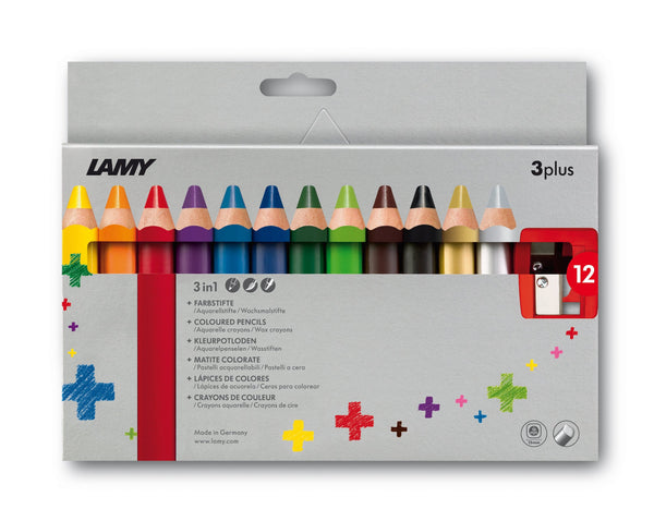 LAMY 3plus colored pencils 12st