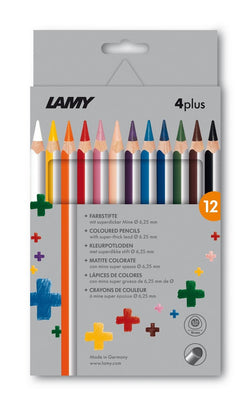 LAMY 4plus colored pencils 12st