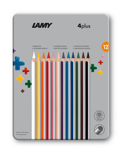LAMY 4plus colored pencils metal box 12st