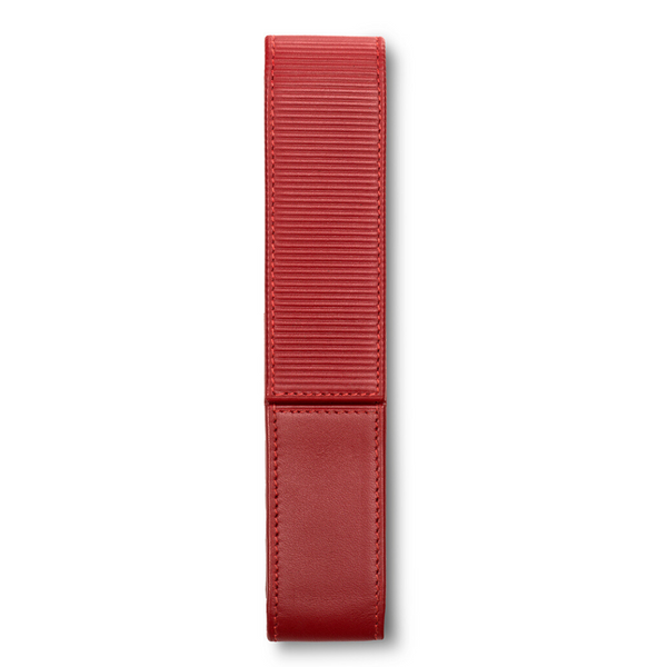 LAMY A 314 Premium Leather Pen Pouch Red for 1 pen