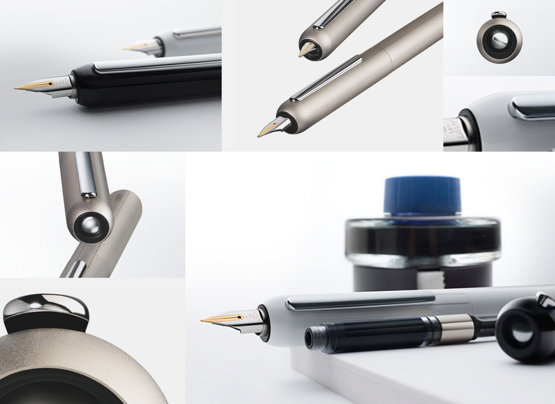 LAMY dialog 3 Palladium Fountain pen