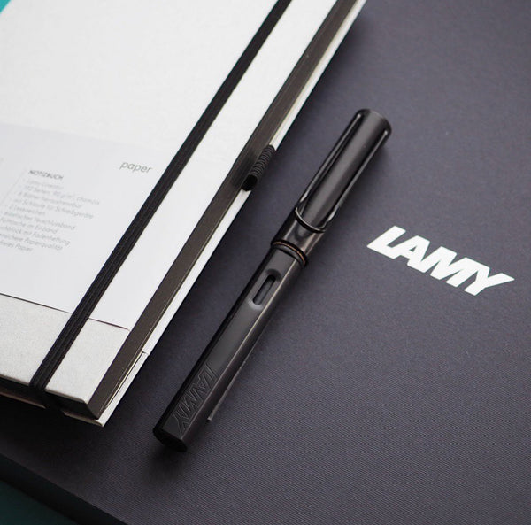 LAMY AL-star + notebook gift set - black
