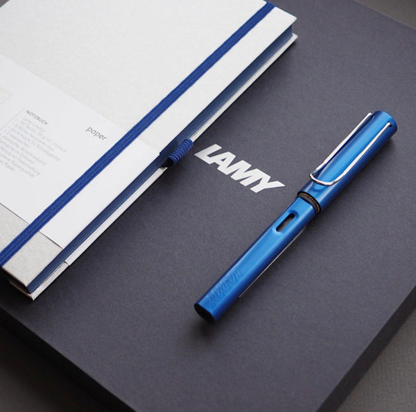 LAMY AL-star + notebook gift set - oceanblue