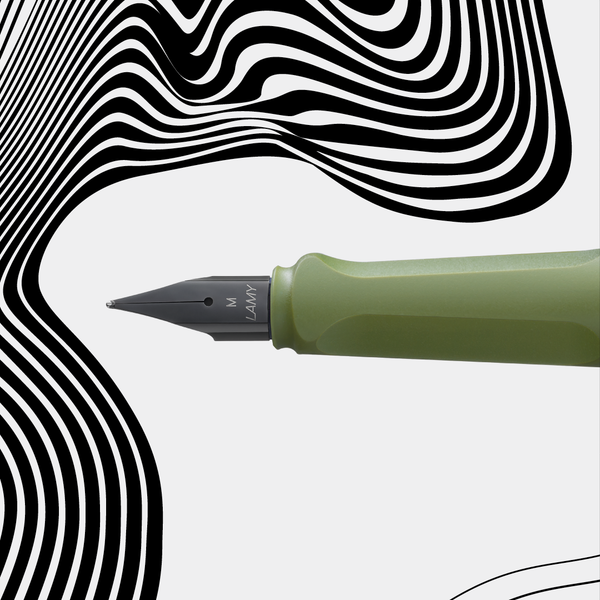 LAMY safari savannah green fountain pen