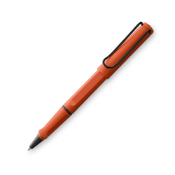 LAMY safari terra red rollerball pen