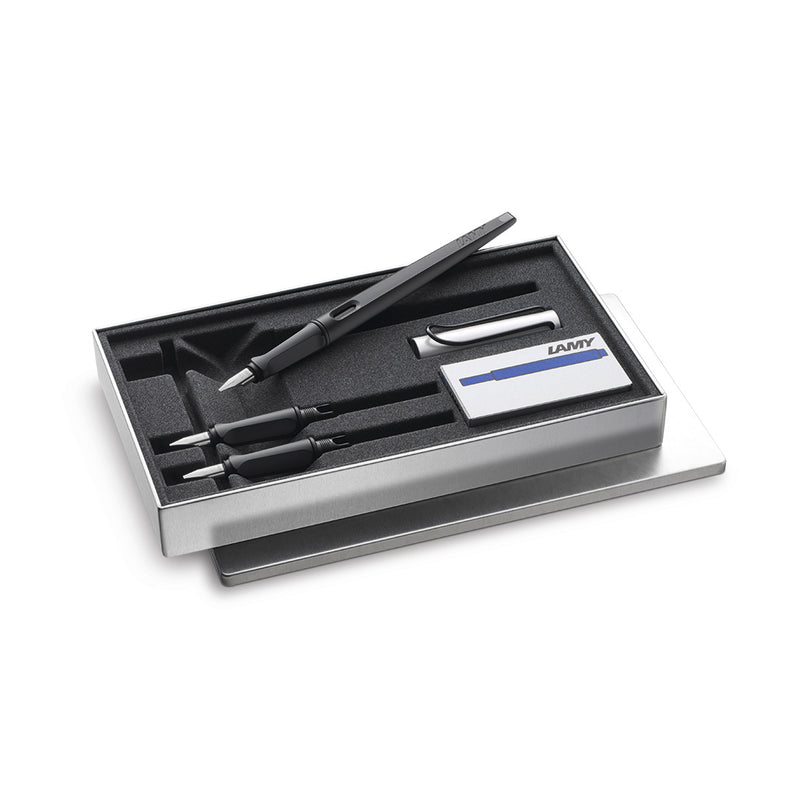 LAMY joy calligraphy pen set AL black