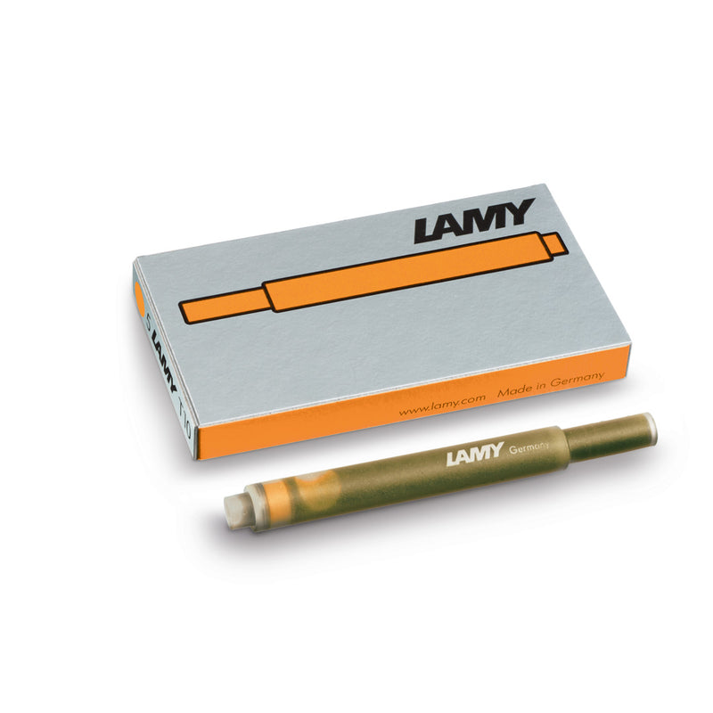 LAMY T10 ink cartridges - bronze - Special Edition
