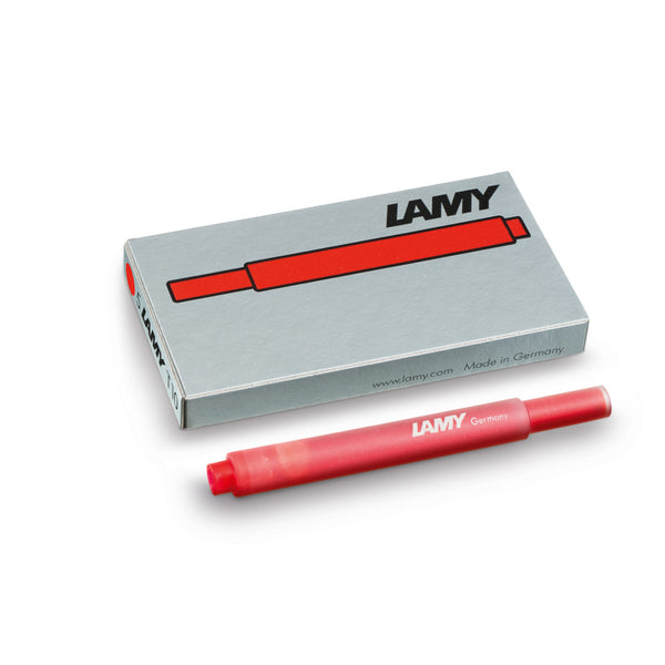 LAMY T10 ink cartridges - red