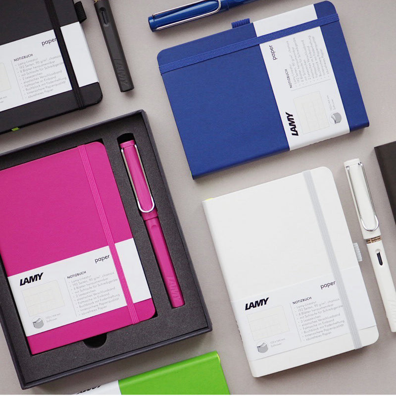 LAMY safari + notebook A6 gift set