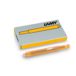 LAMY T10 ink cartridges - mango - Special Edition