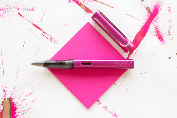 LAMY AL-star vibrant pink Fountain pen