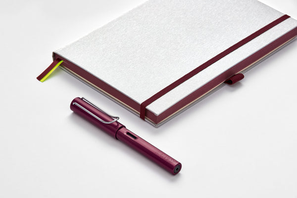 LAMY AL-star + notebook gift set - black purple