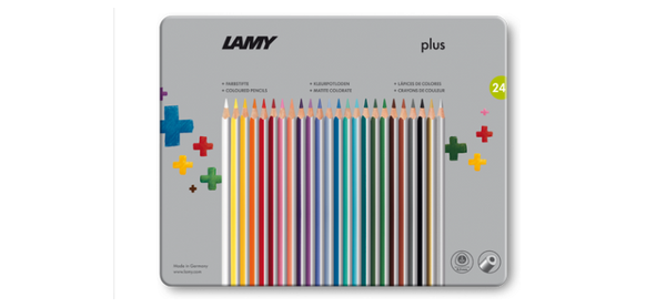 LAMY plus colored pencils metal box 24st