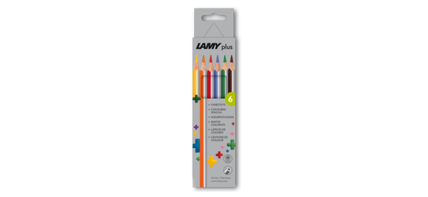 LAMY plus colored pencils 6st