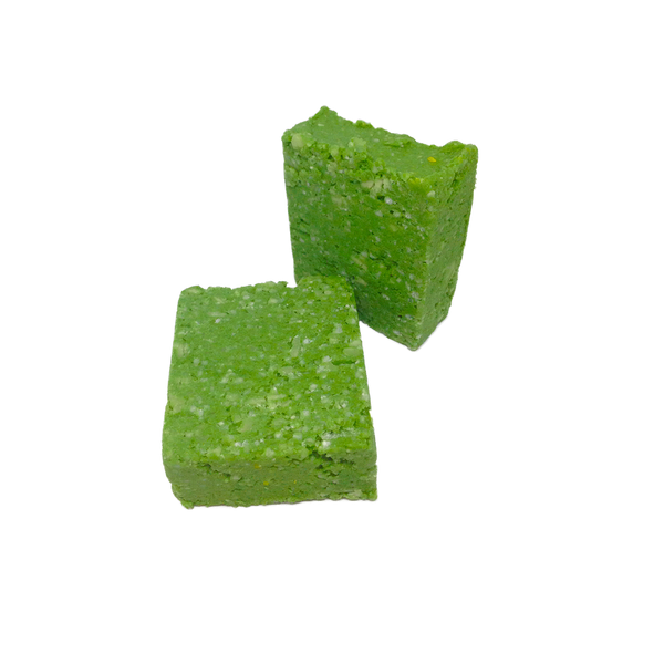 SoapOman - Green Peppermint Shampoo Bar - Great for Oily Hair
